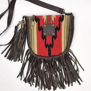STS Ranchwear Leather Princess Serape Crossbody